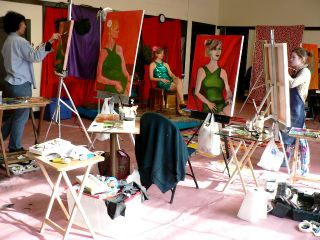Barbara Fugate 2009 Art Workshops (8)