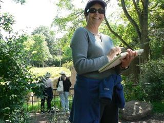 Nancy at the zoo