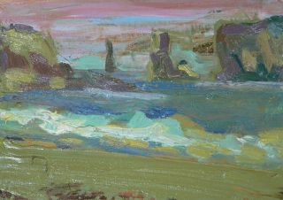 09 barbara fugate plein air la push wa17