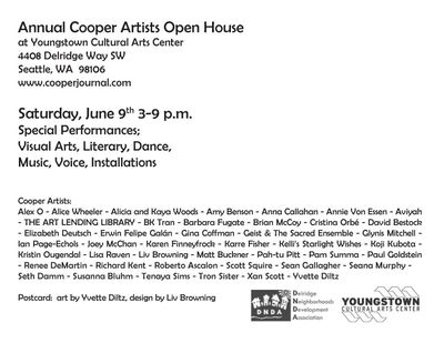 Cooper Open House back