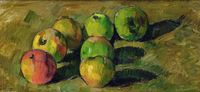 1-still-life-with-apples-paul-cezanne, 1878