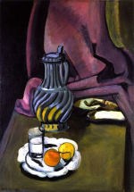 The pewter jug. 1917. matisse