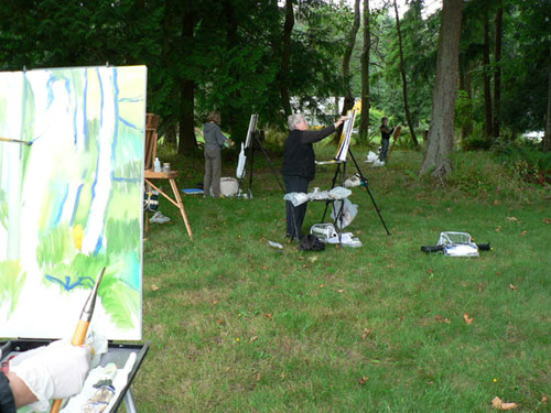 29_painting_in_the_woods