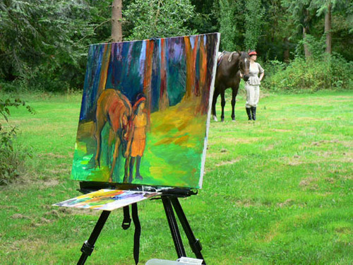 32_painting_horse_and_rider